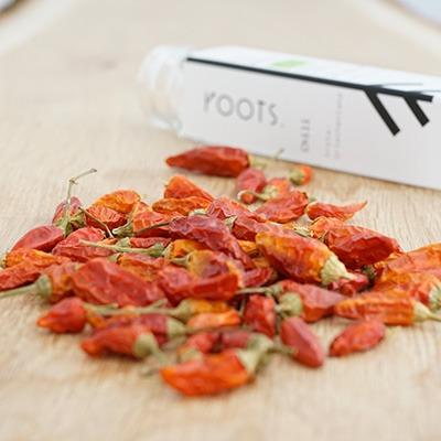 Wuerzen mit Chilischote Piri Piri natuerlich und nachhaltig von roots-natural