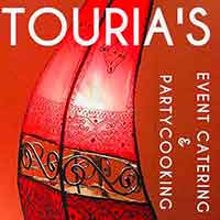 Logo TOURIA'S-Event-Catering-&-Partycooking