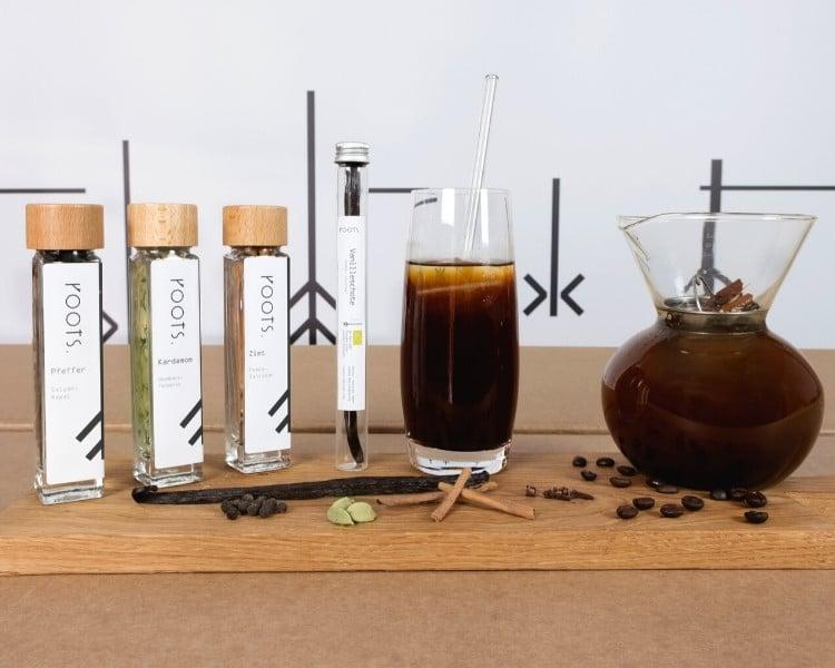Cold Brew Kaffee mit Gewuerzen