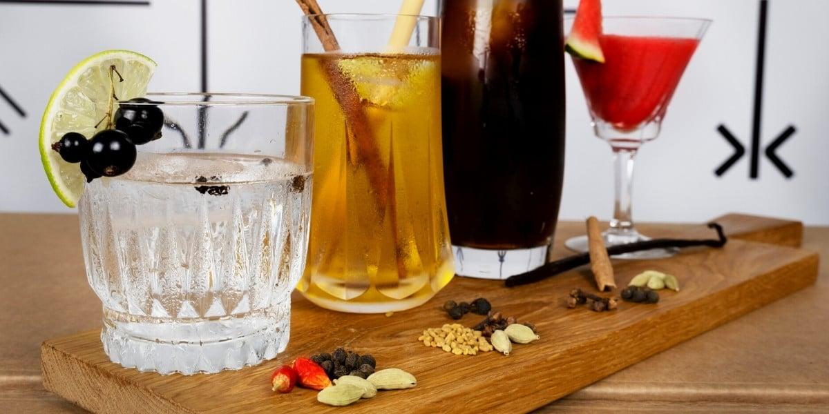 Cold brew mit Gewuerzen für den erfrischenden Genuss