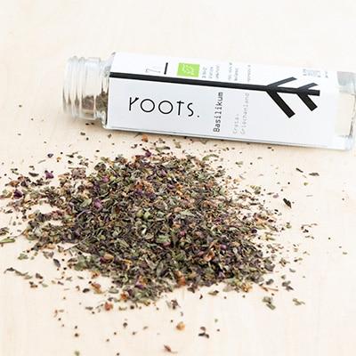 Wuerzen mit Basilikum natuerlich und nachhaltig von roots-natural