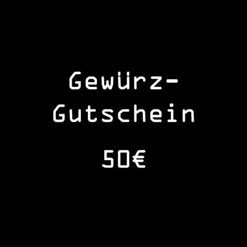 Gutschein Gewuerze 50 Euro von roots zum Einkauf im Online Gewuerz-Shop
