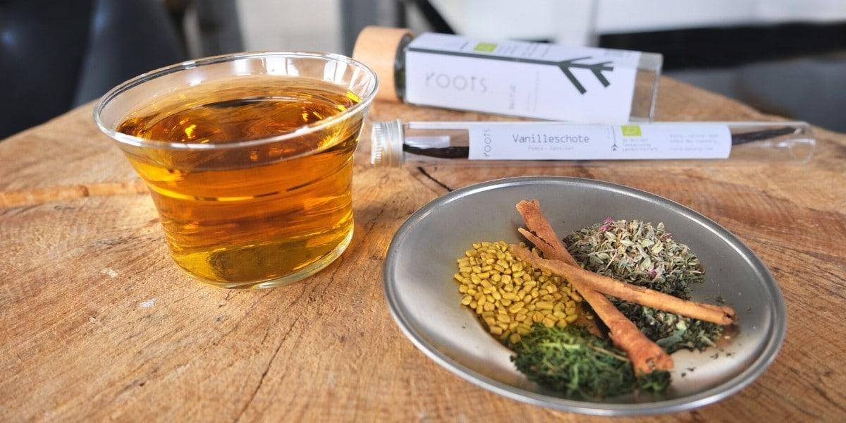 Cold Brew Tee mit Gewuerzen