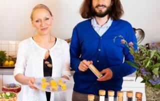 Veranstalter vom Online-Kurs pflanzliche Vitalkost lecker wuerzen