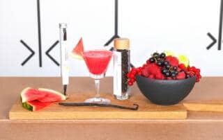 Wassermelonensaft mit Vanille