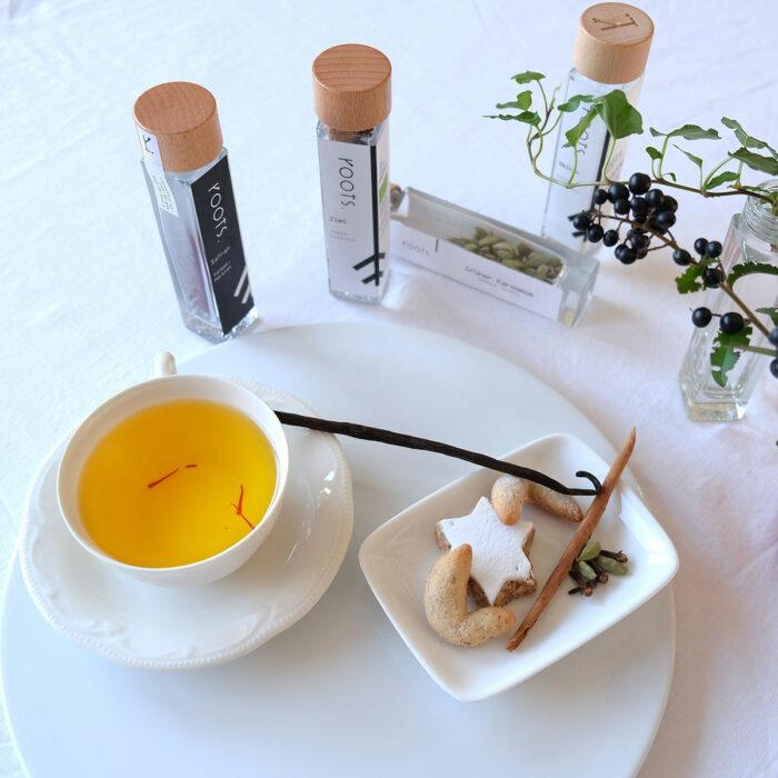 Tee mit Vanille von roots