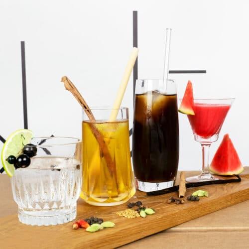 Online-Gewuerzkurs mit Gewuerzset 'Summer Drinks'